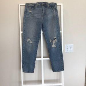 Fashion nova high rise boyfriend jeans size 7